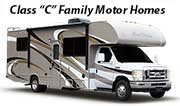 RV Rentals San Diego Class C Family Motor Home Rentals