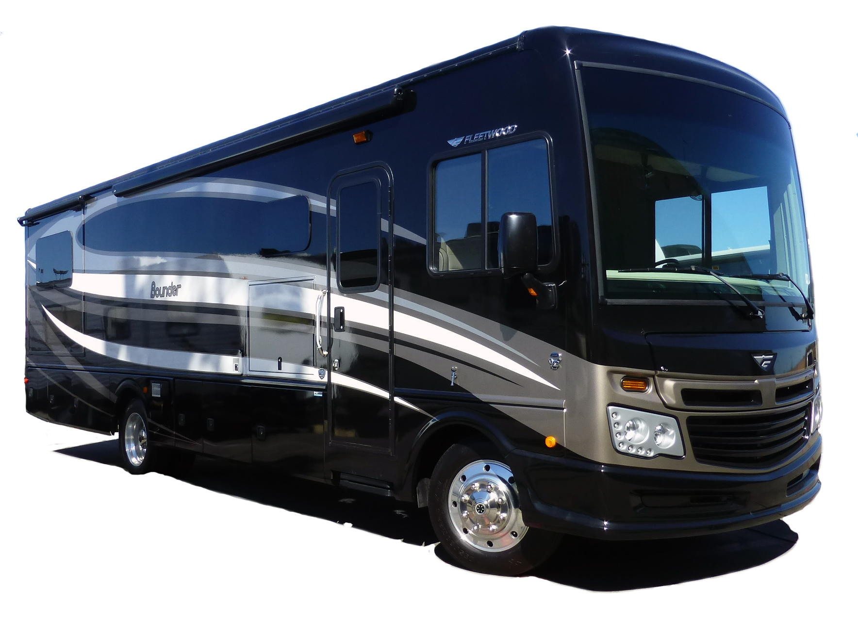 San Diego Rv Rentals 2015 33 Fleetwood Bounder With